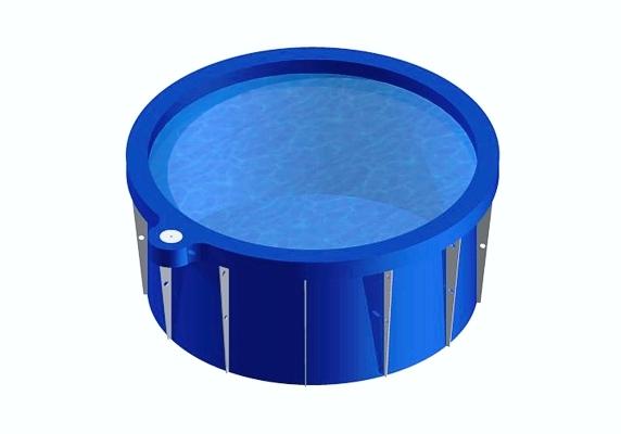 Apvalus polipropileninis baseinas (įvairių dydžių)