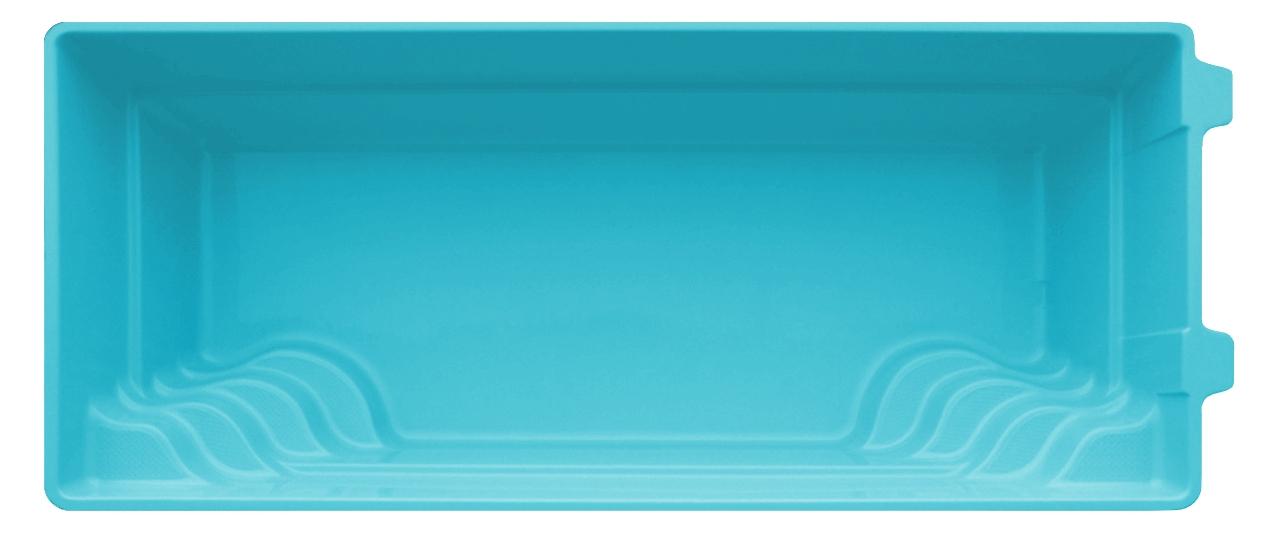 Stiklo pluošto baseinas AquaFiber 36 su įrangos komplektu