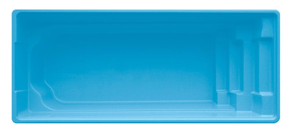 Stiklo pluošto baseinas AquaFiber Bali 3.15×6.30×1.50m su įrangos komplektu.  Bus sandėlyje balandžio mėnesį!
